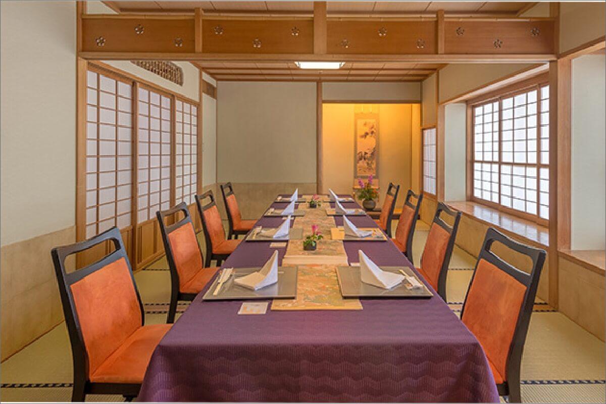 日本料理「あづま」の写真 個室